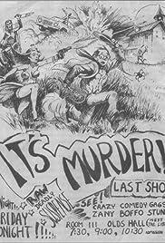 It's Murder!(1977) Poster - Movie Forum, Cast, Reviews