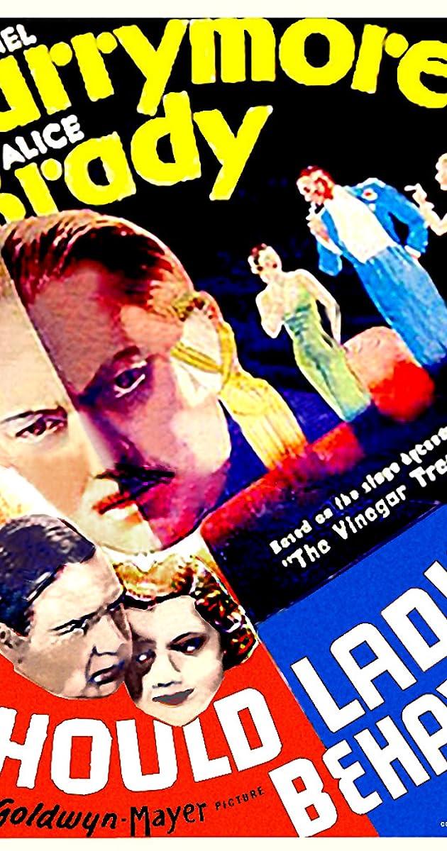 Should Ladies Behave 1933 IMDb