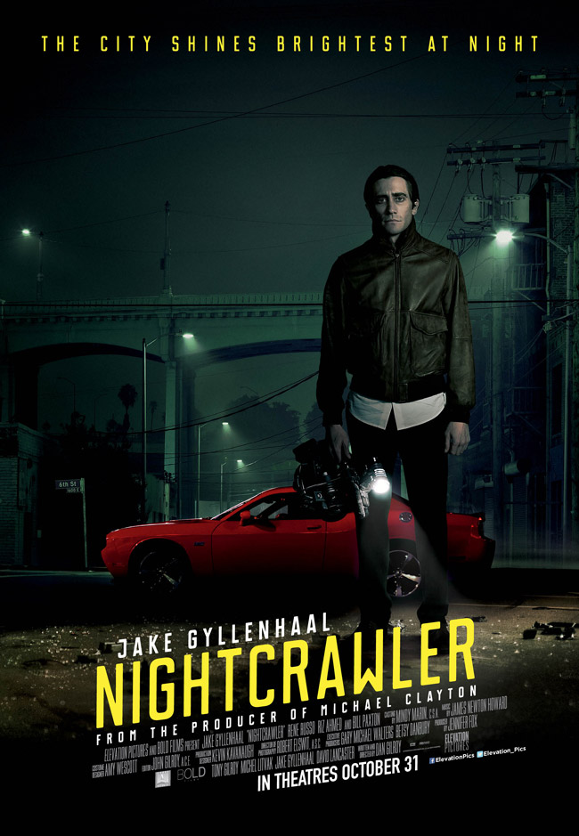 Jake Gyllenhaal in Nightcrawler (2014)