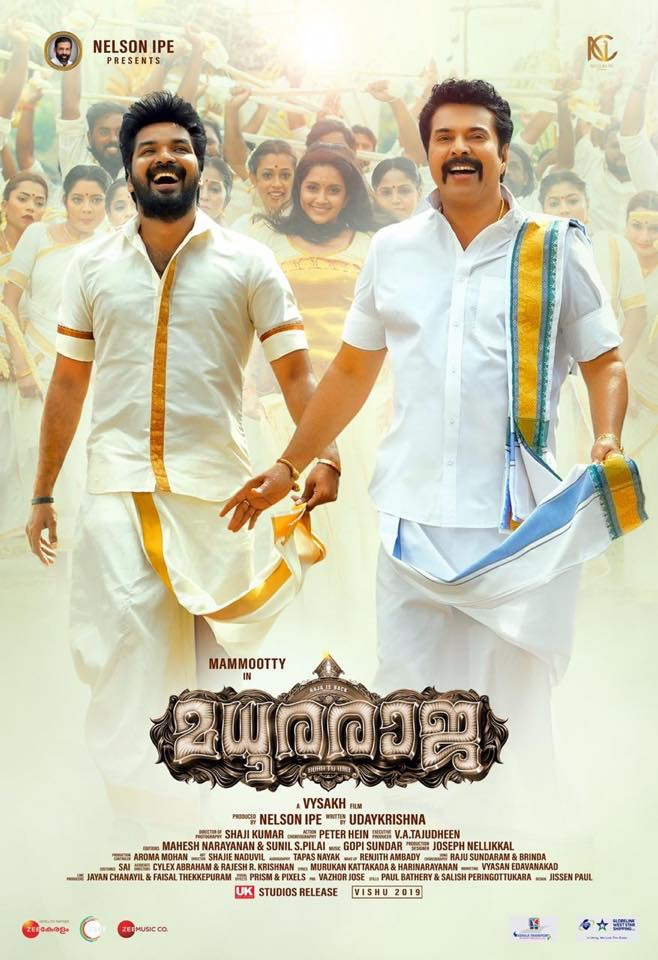 Madhura Raja 2019 Malayalam Full Movie 400MB Proper HDRip Download