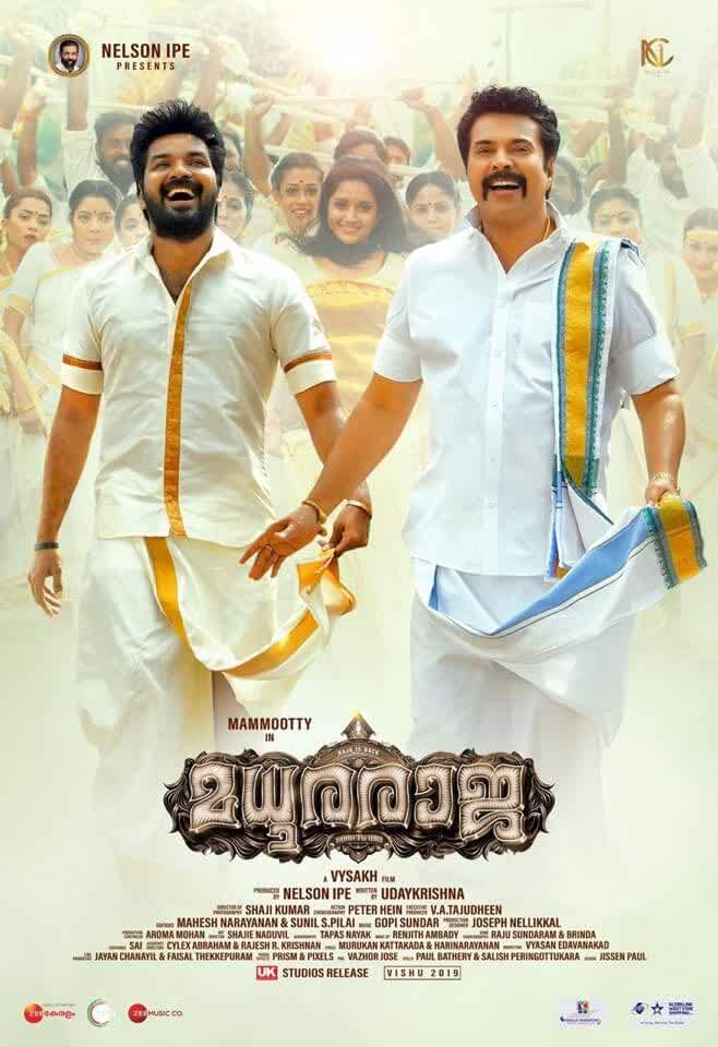 Madhuraraja (2019) Uncut HINDI HD
