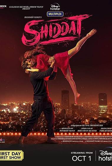 Shiddat (2021) HDRip Hindi Movie Watch Online Free