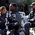 Rhona Mitra, John Pyper-Ferguson, and Jocko Sims in The Last Ship (2014)