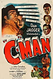 'C'-Man (1949) starring Dean Jagger on DVD on DVD