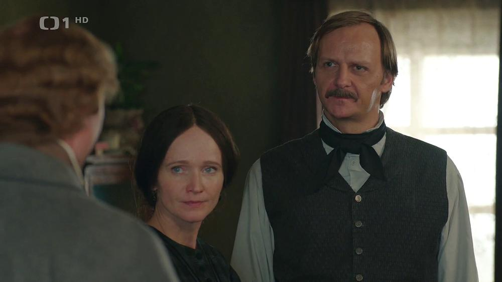 Anna Geislerová and Jan Hájek in Bozena (2021)