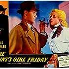 Diana Dors and Louis Hayward in The Saint's Return (1953)
