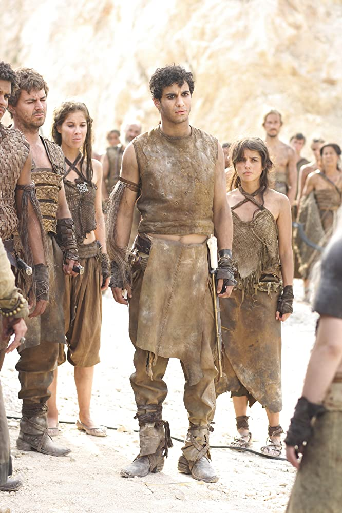 Elyes Gabel, Roxanne McKee, and Amrita Acharia in Game of Thrones (2011)