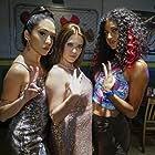 Rachel Bloom, Gabrielle Ruiz, and Vella Lovell in Crazy Ex-Girlfriend (2015)