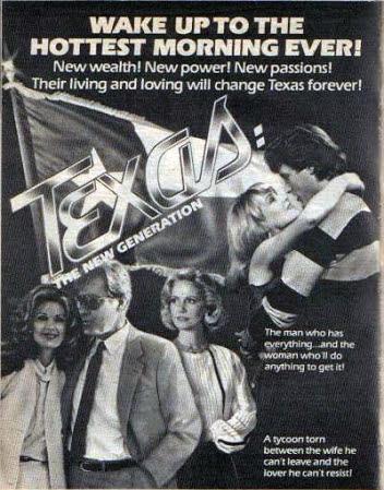 Sharon Acker, Carla Borelli, Donald May, Alexandra Neil, and Michael Woods in Texas (1980)