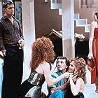 Roy Scheider, Treat Williams, Rebeccah Bush, Penny Baker, David Dukes, and Manette LaChance in The Men's Club (1986)