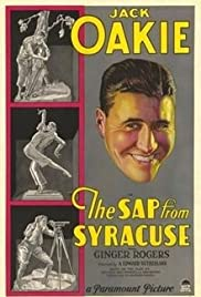 The Sap from Syracuse Poster