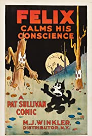 Felix Calms His Conscience Poster
