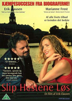 Erik Clausen and Marianne Frost in Slip hestene løs (2000)