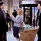 Jennifer Aniston, David Schwimmer, and Steven Eckholdt in Friends (1994)