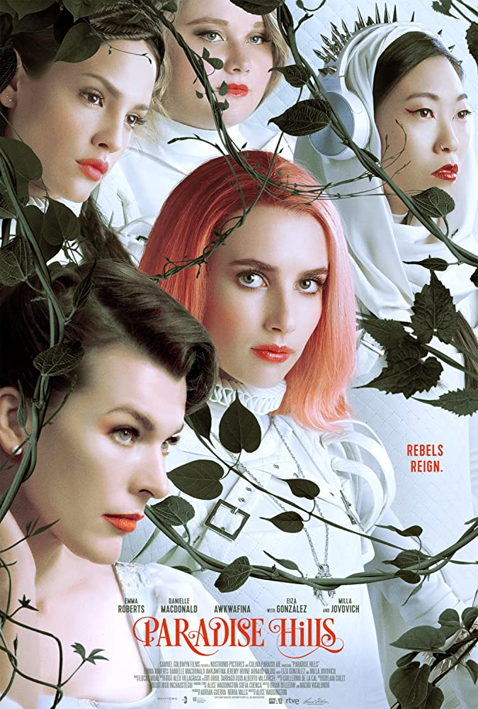 Paradise Hills (2019) English 720p HDRip 800MB