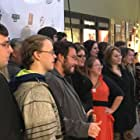 Tori Hermsen, Emma Mentley, Sarah Oberbroeckling, Joshua Stika, Mary Beecher, and Kyle Timmer at an event for Black Friday (2017)