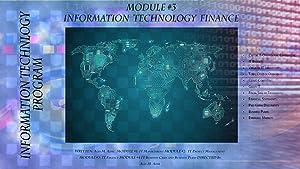 Technology & Money: IT Finance