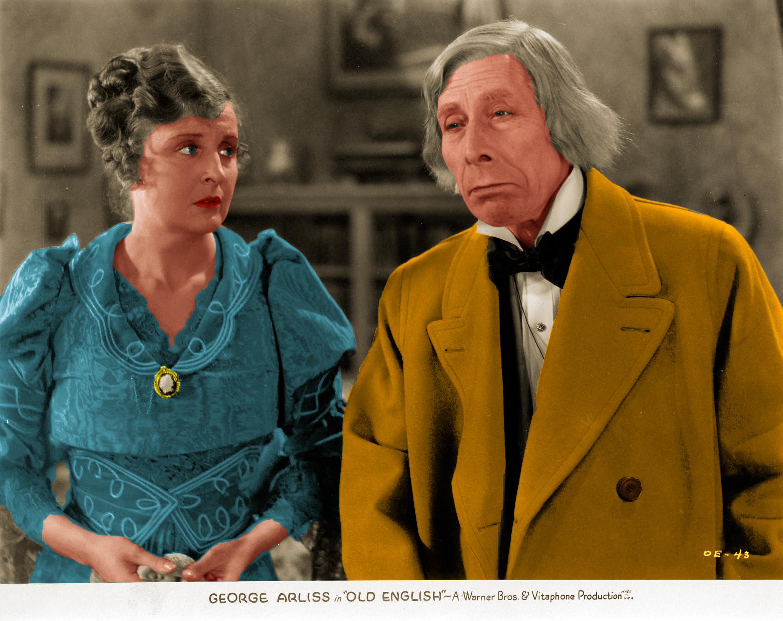 George Arliss and Doris Lloyd in Old English (1930)