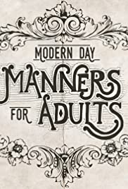 Modern Day Manners for Adults Poster