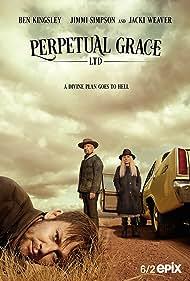Ben Kingsley, Jimmi Simpson, and Jacki Weaver in Perpetual Grace, LTD (2019)