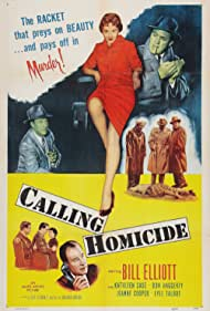 Kathleen Case, Jeanne Cooper, Bill Elliott, and Don Haggerty in Calling Homicide (1956)