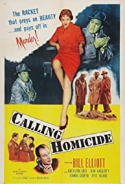 Calling Homicide Poster