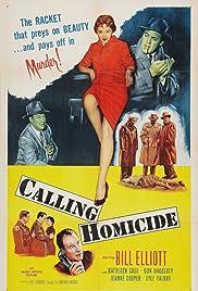 Calling Homicide Poster