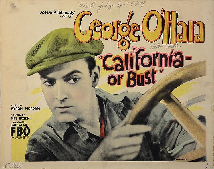 George O'Hara in California or Bust (1927)