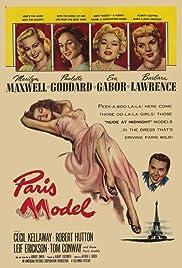 Paris Model Poster