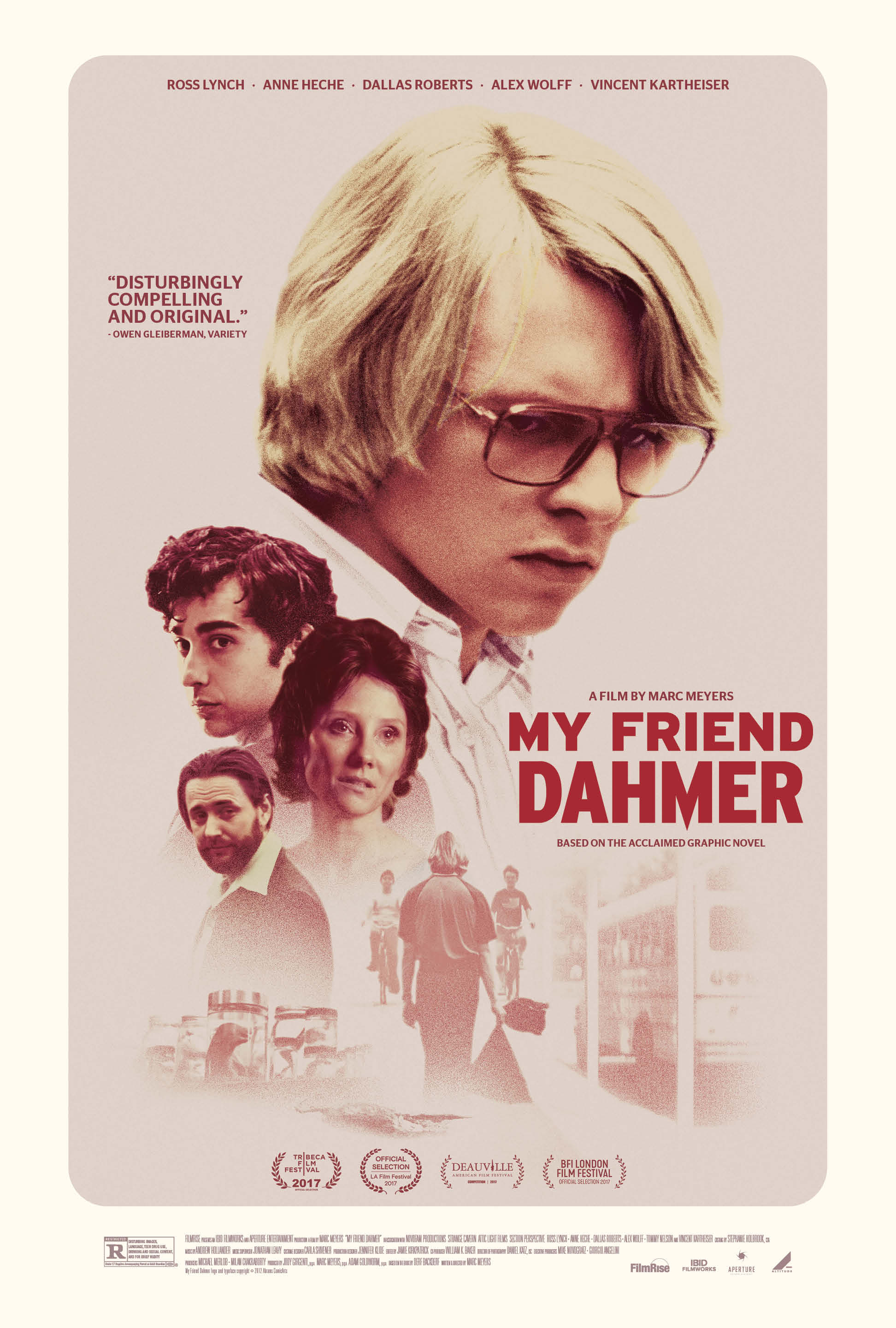 My Friend Dahmer (2017) WEBRip 720p