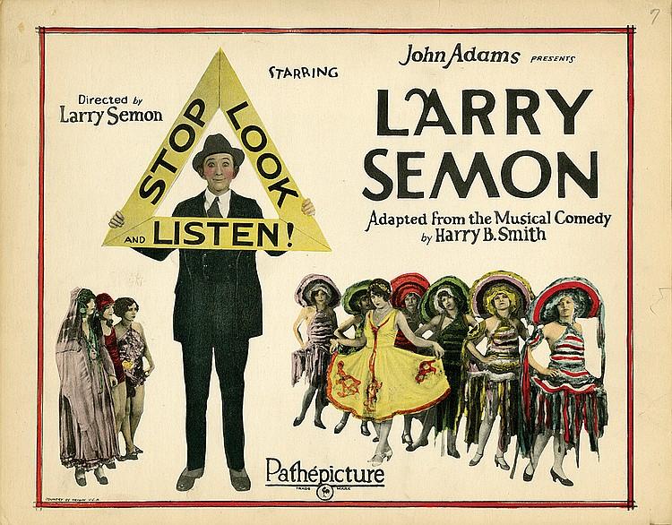 Stop, Look and Listen (1926)