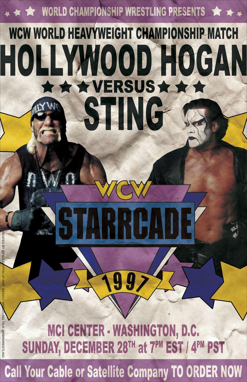 WCW Starrcade 1997 (TV Special 1997) - IMDb