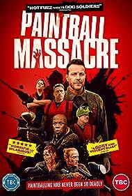 Lee Latchford-Evans, Robert Portal, Katy Brand, Lockhart Ogilvie, Nathan Clough, Paul Holbrook, and Natasha Killip in Paintball Massacre (2020)