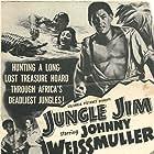 Lita Baron, Virginia Grey, Rick Vallin, and Johnny Weissmuller in Jungle Jim (1948)