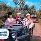 Dorothee Parker, Brad Harris, and Chris Howland in Die Diamantenhölle am Mekong (1964)