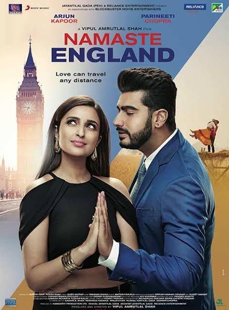 Namaste England (2018) Hindi Movie