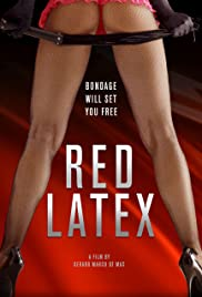 Red Latex Poster