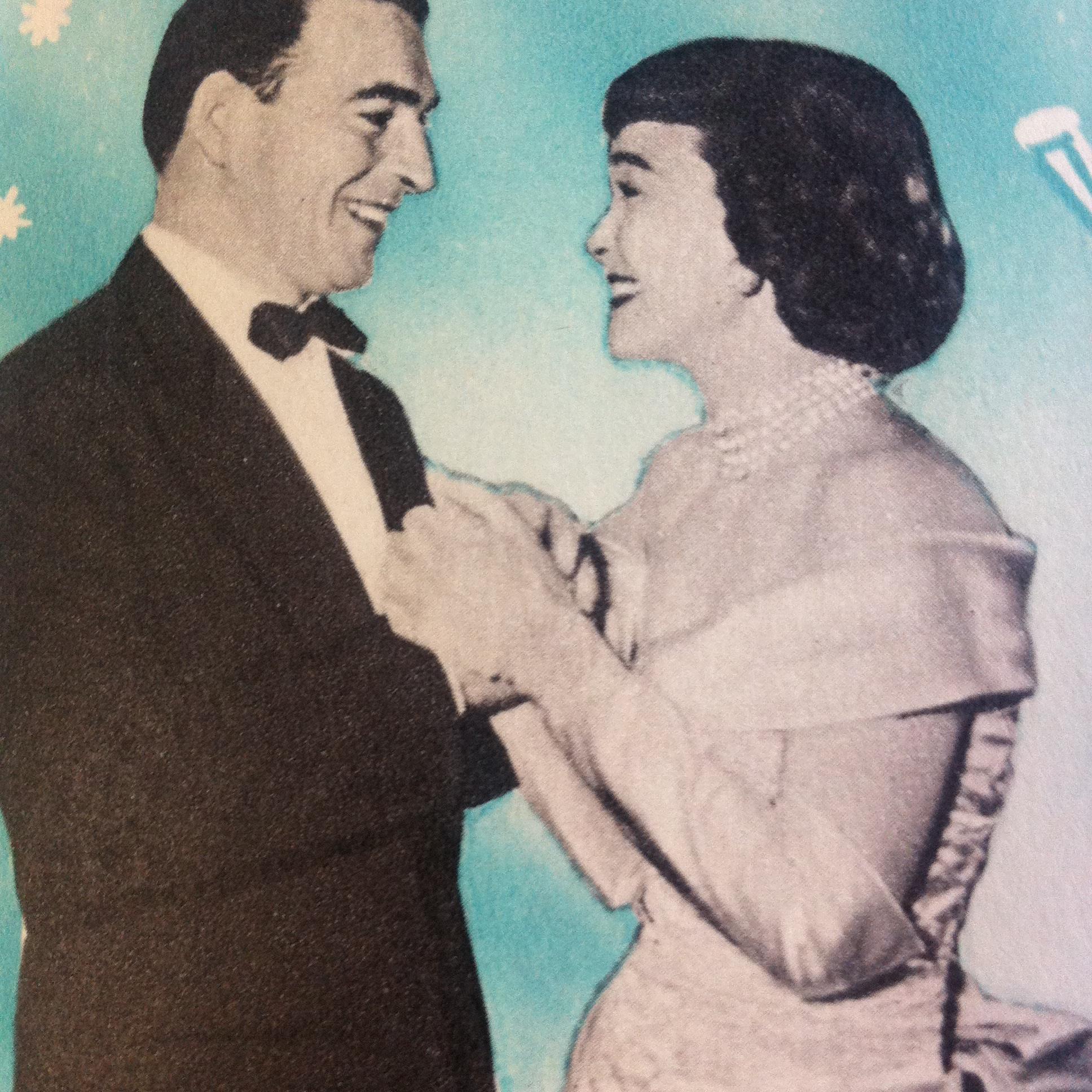 Stephen McNally and Jane Wyman in Johnny Belinda (1948)