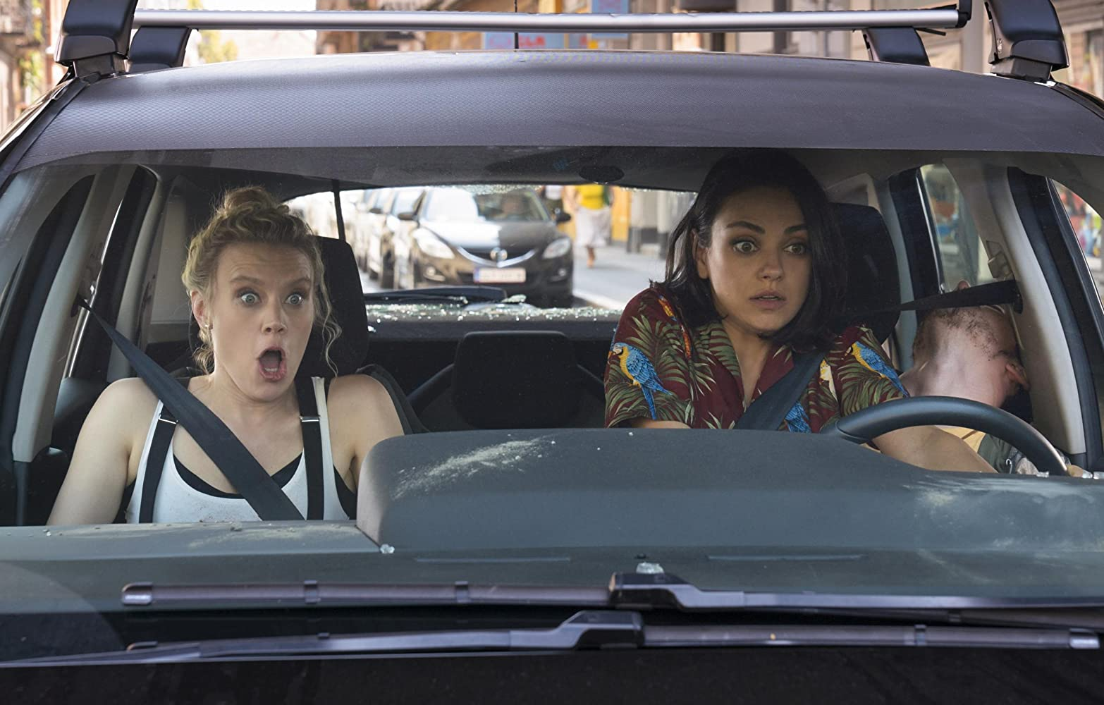 Mila Kunis and Kate McKinnon in The Spy Who Dumped Me (2018)