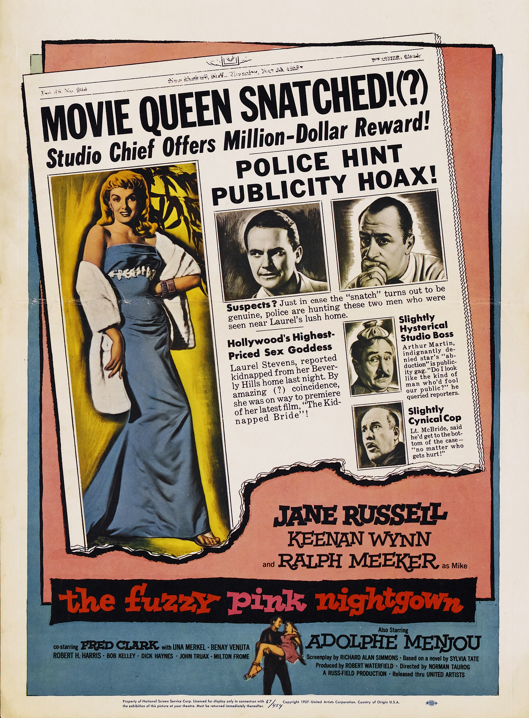 8ce15502ff The Fuzzy Pink Nightgown (1957) - IMDb