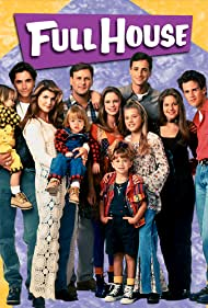Mary-Kate Olsen, John Stamos, Andrea Barber, Candace Cameron Bure, Dave Coulier, Lori Loughlin, Bob Saget, Jodie Sweetin, Blake Tuomy-Wilhoit, Dylan Tuomy-Wilhoit, and Scott Weinger in Full House (1987)