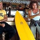 Clovis Cornillac and Jean Dujardin in Brice de Nice (2005)