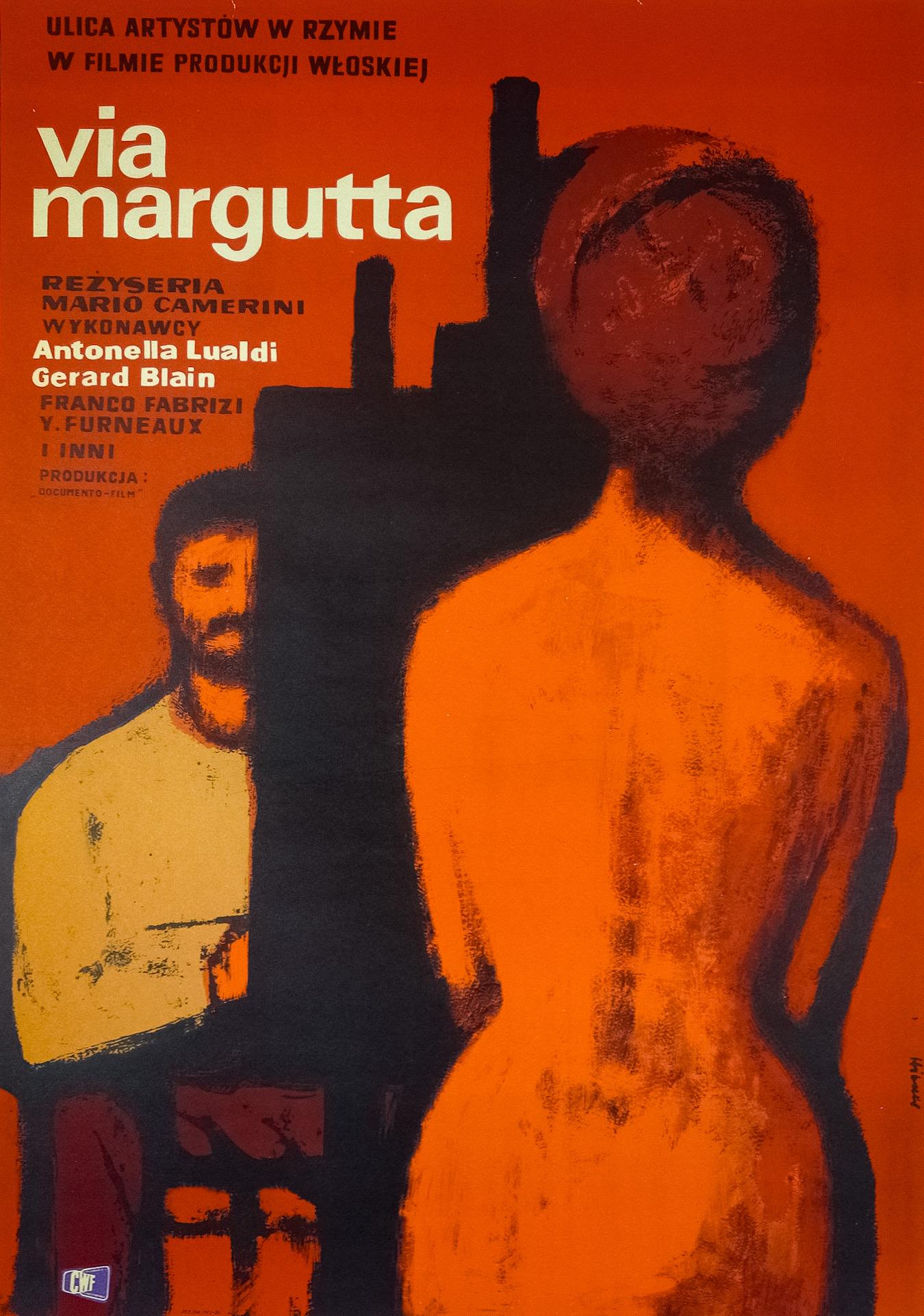 Gérard Blain, Mario Camerini, Franco Fabrizi, Yvonne Furneaux, and Antonella Lualdi in Via Margutta (1960)
