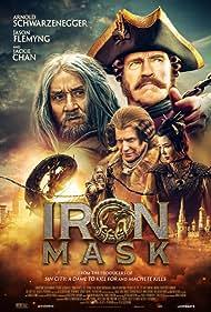 Arnold Schwarzenegger, Jackie Chan, and Jason Flemyng in Tayna pechati drakona (2019)