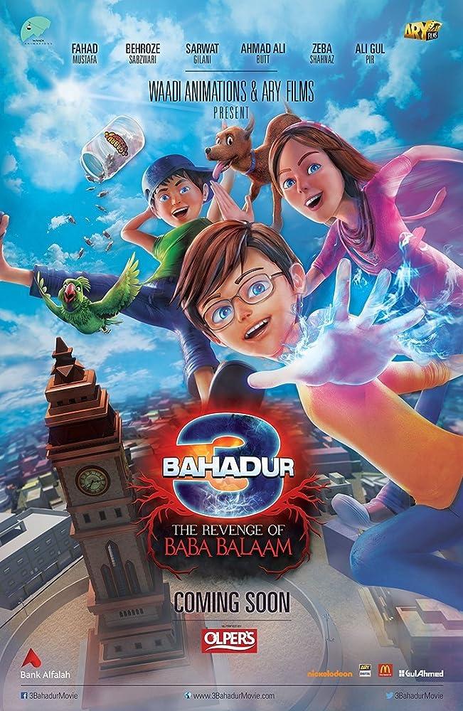 3 Bahadur: The Revenge of Baba Balaam (2016) Urdu 300MB HDRip 480p x264