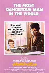 Walter Matthau and Glenda Jackson in Hopscotch (1980)