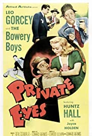 Private Eyes(1953) Poster - Movie Forum, Cast, Reviews