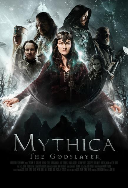 Kevin Sorbo, Adam Johnson, Nicola Posener, Matthew Mercer, Jake Stormoen, Kristian Nairn, and Melanie Stone in Mythica: The Godslayer (2016)