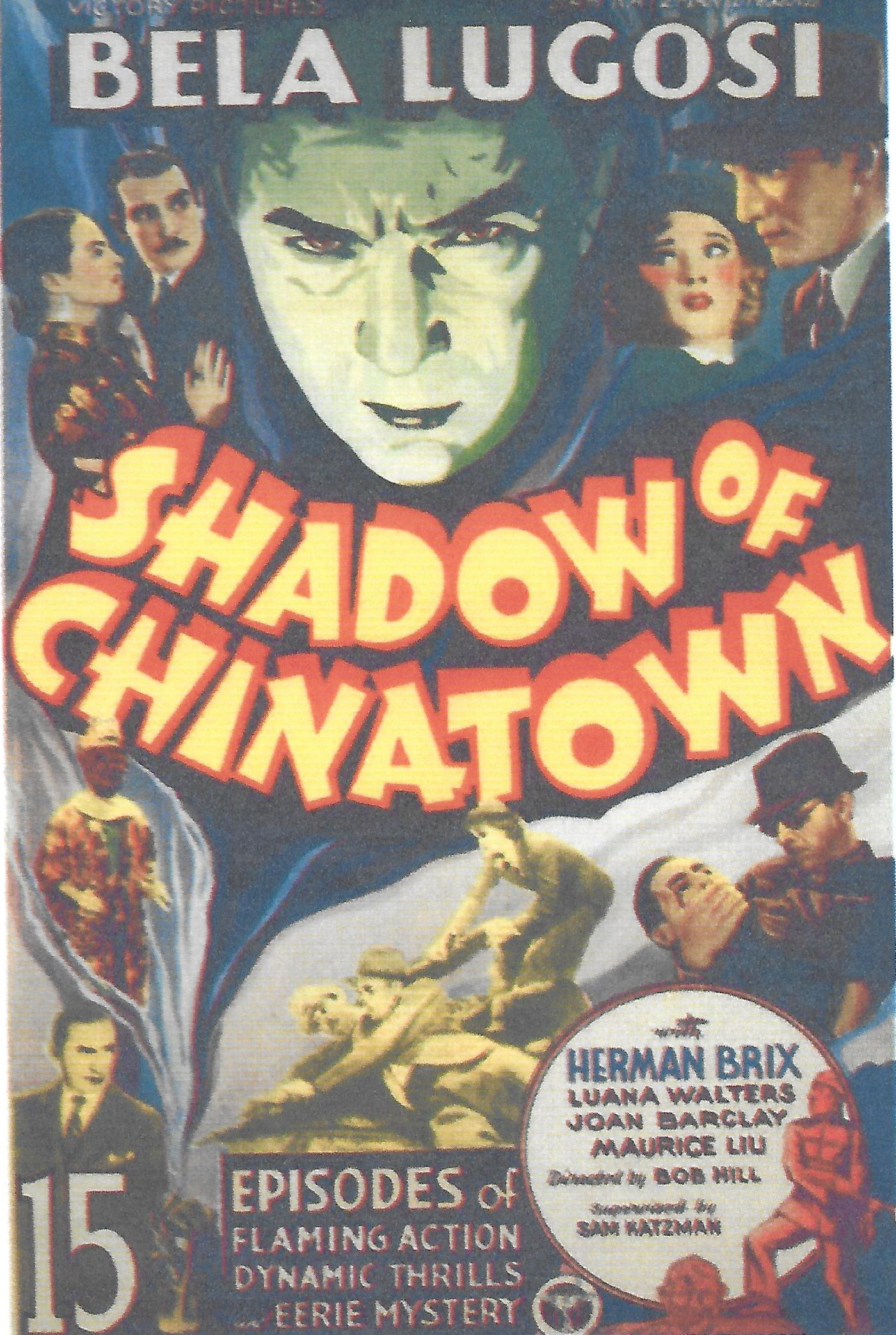 Bela Lugosi, Joan Barclay, Bruce Bennett, Maurice Liu, and Luana Walters in Shadow of Chinatown (1936)