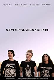 What Metal Girls Are Into Poster